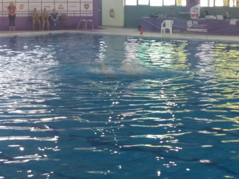 To Δ.Σ. Παλαγίας στους αγώνες Συγχρονισμένης Κολύμβησης.